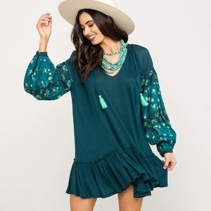 Free People Mix It Up tunic